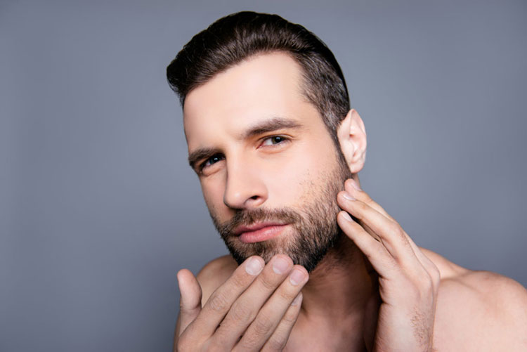 Moisturize Dry Flaky Skin Under Beard and Mustache