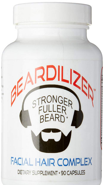 Beardilizer Facial Hair Supplement