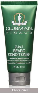 clubman 2 in 1 beard conditioner how to use