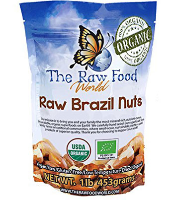 organic raw brazil nuts for hair growth