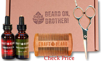moustache and beard grooming kit