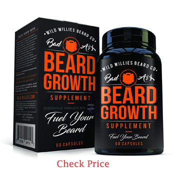 wild willies beard growth supplements review