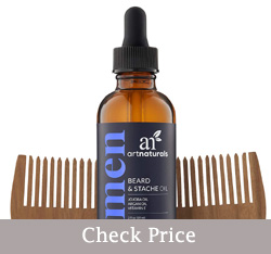 art naturals organic beard oil review