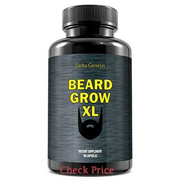 beard grow xl review - Beard Growth Supplements