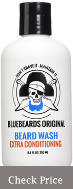 bluebeard beard wash shampoo