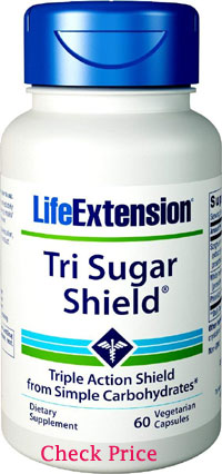 life extension tri sugar shield reviews - beard growth supplements