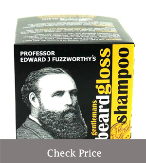 best beard shampoo for growth - professor fuzzworthy's beard shampoo review