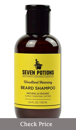 seven potions beard shampoo review