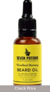 seven potions beard oil review